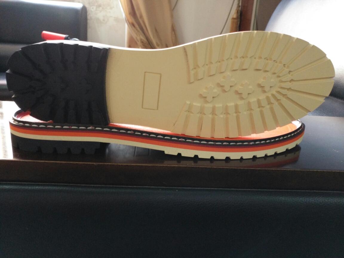 鞋底 橡胶 男段 登山/户外鞋 正装男鞋 单色 39 40 41 42 43 44 组合 RB+沿条